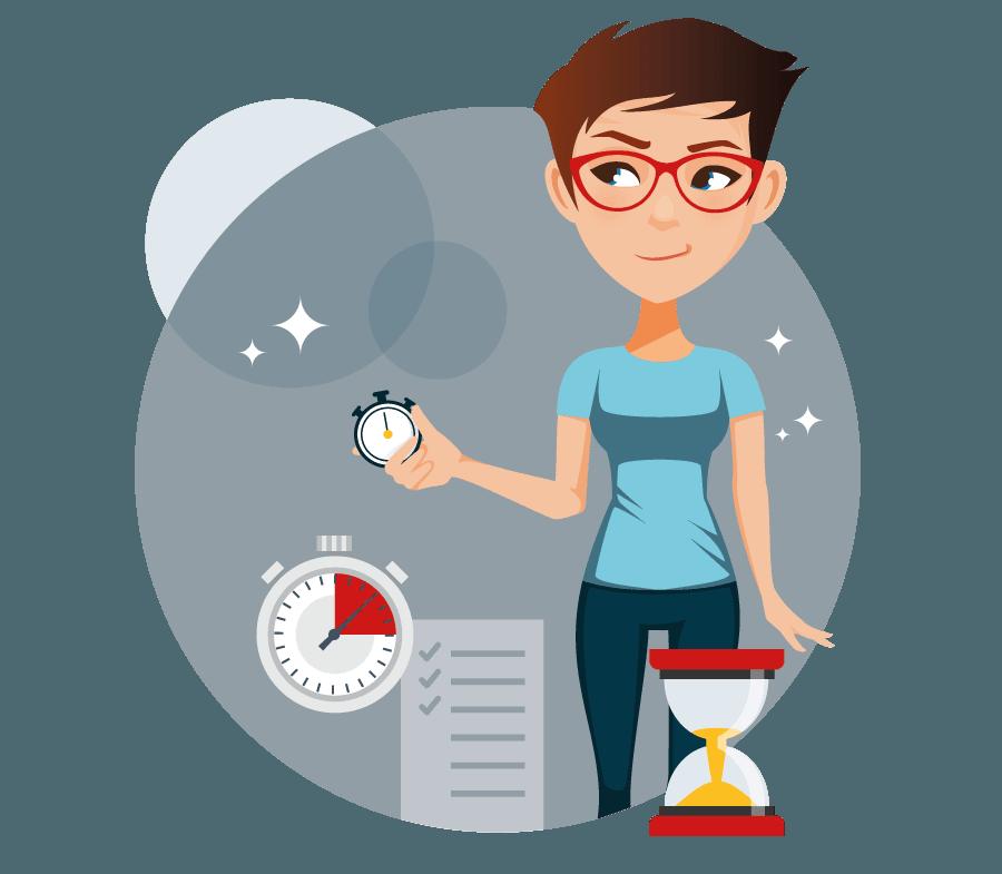 Brugervenligt tidsregistreringssystem