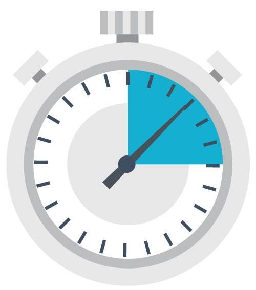 Medgået tid timeregistrering